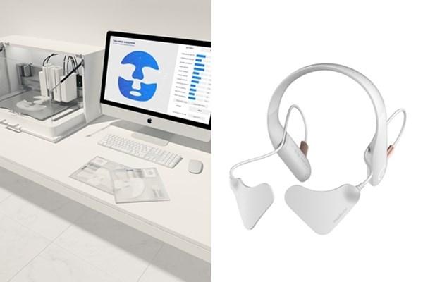 아모레퍼시픽이 선보이는 3D 프린팅 맞춤 마스크팩'과 '플렉서블 LED 패치(가칭)' (사진=아모레퍼시픽)